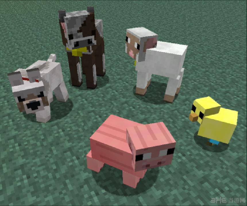 我的世界1.6.4更好的动物宝宝mod