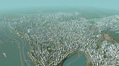 城市地平线三十万人口高密度城市存档|城市:天际线三