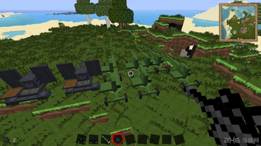 我的世界1.6.2草泥马整合包截图6