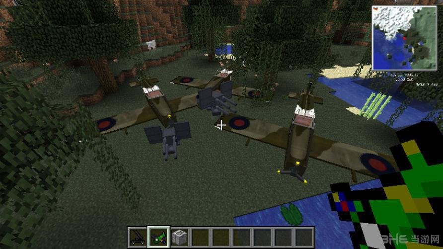 2]minecraft我的世界第2次世界大战*械(飞机载/具)