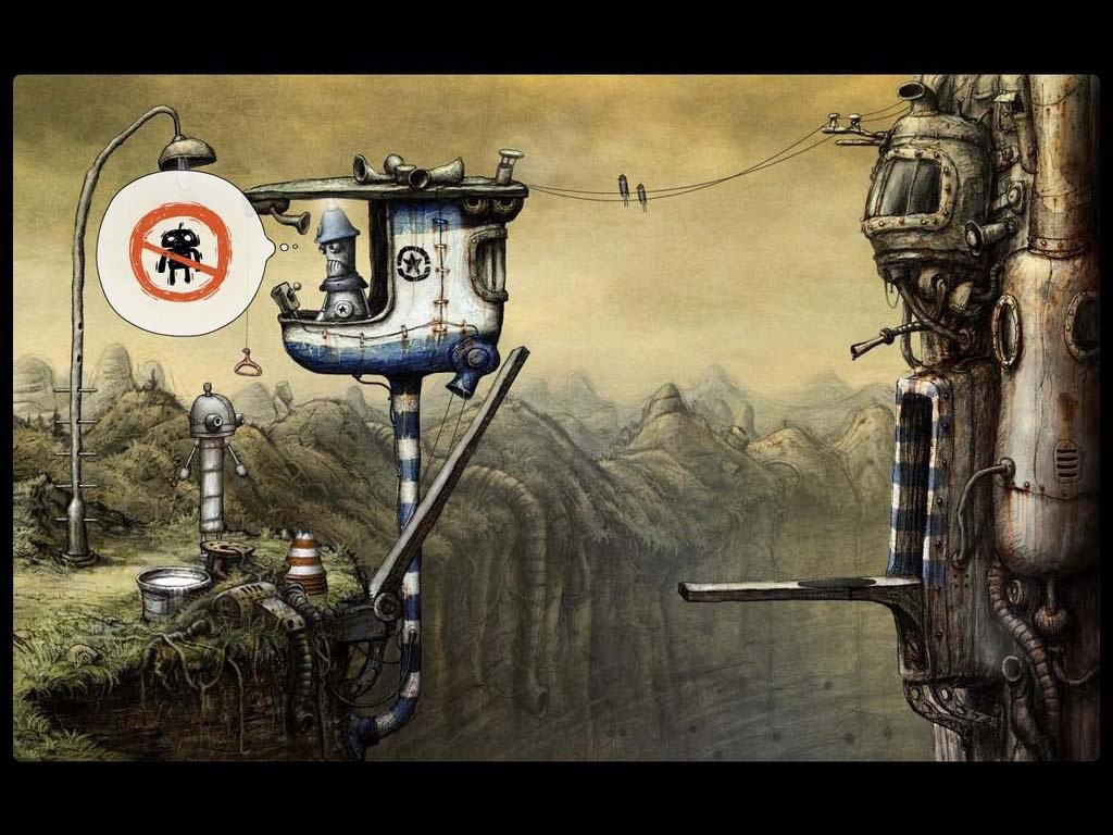 机械迷城高清壁纸欣赏