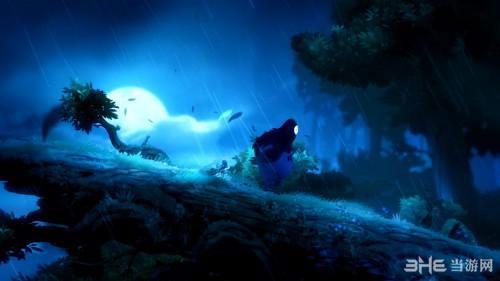奥日和黑暗森林黑鸟boss战和结局动画欣赏图片