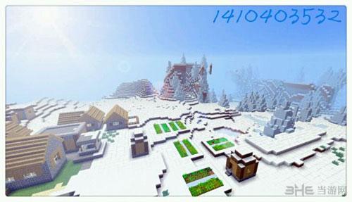 我的世界雪地代码和雪地村庄种子大全1