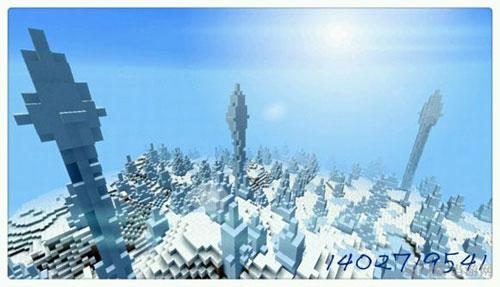 我的世界雪地代码和雪地村庄种子大全4