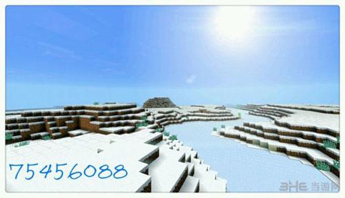 我的世界雪地代码和雪地村庄种子大全5