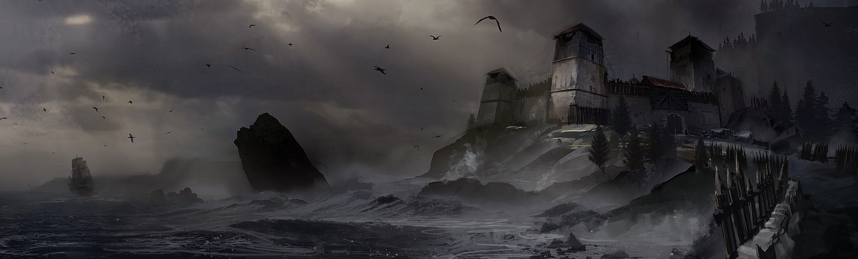 刺客信条叛变概念图欣赏 冰雪尘封的世界