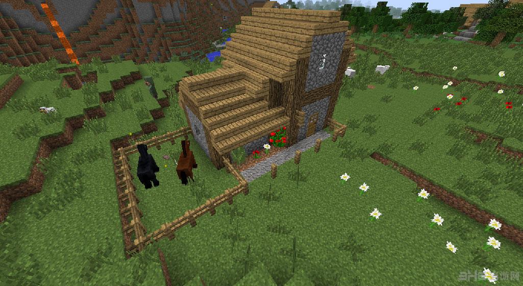 我的世界1.7.2 更多的村庄遗迹mod图片