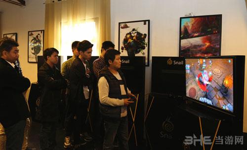 OBOX进行大屏版《太极熊猫》PK赛