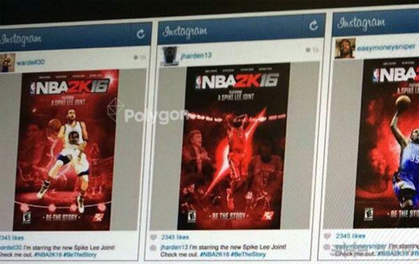 NBA2k16封面图