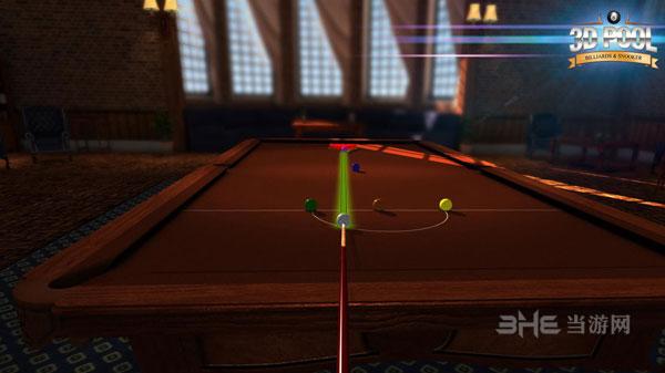 3D桌球:台球与斯诺克截图1