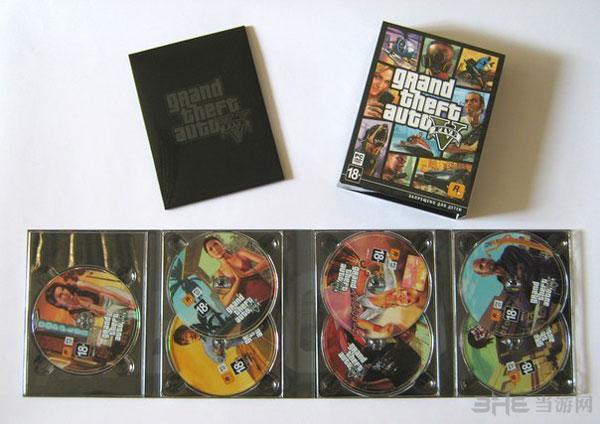 GTA5实体版光碟
