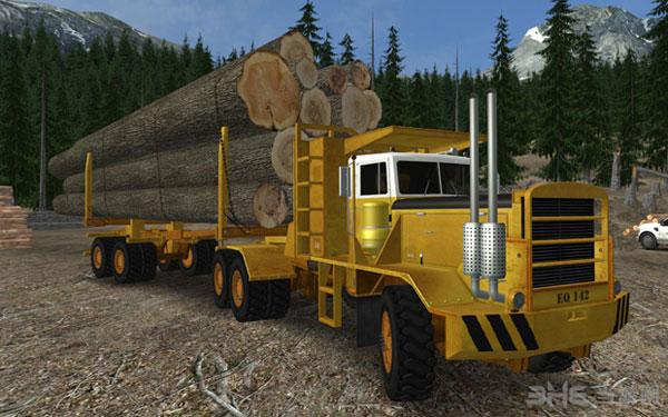 18轮大卡车:极限卡车司机2截图1