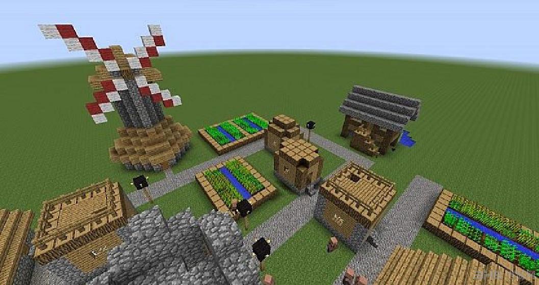 我的世界1.7.10扩展村庄mod图片