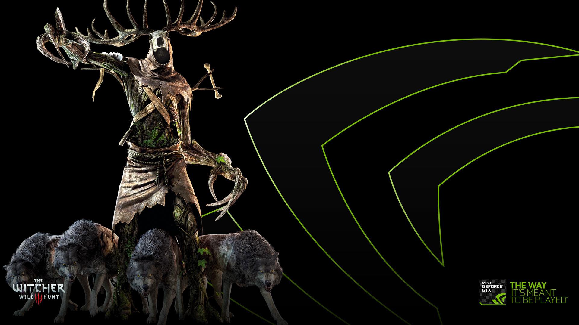 巫师3狂猎nvidia专属1920x1080高清壁纸欣赏