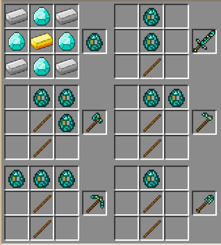 我的世界1.7.2更多物品mod