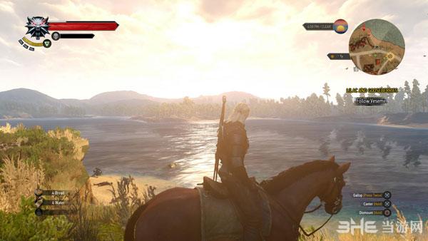 巫师3狂猎PS4偷跑版截图2