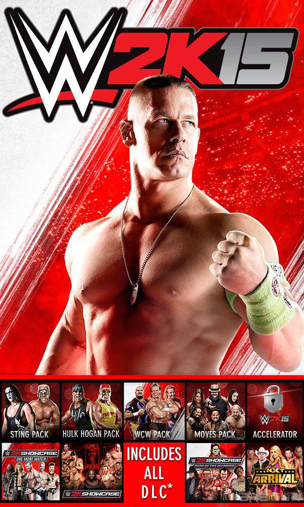美国职业摔角联盟2k15封面