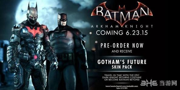 蝙蝠侠阿卡姆骑士宣传图2