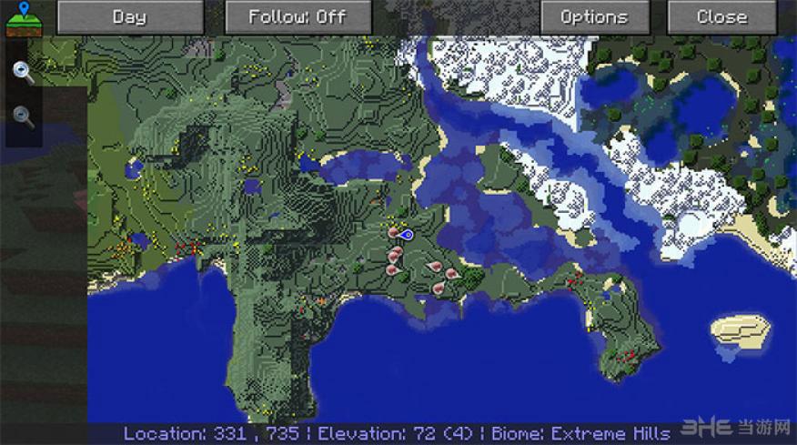 我的世界1.7.10无雷达版旅行地图mod