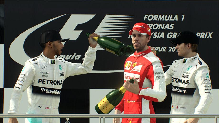 F1 2015游戏高清截图第二弹 新引擎画质效