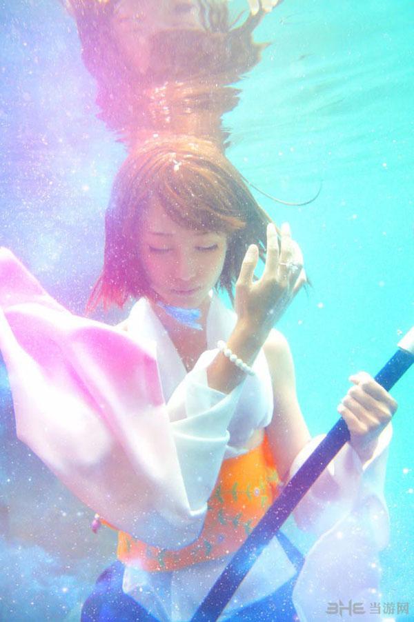 最终幻想尤娜cos图片1