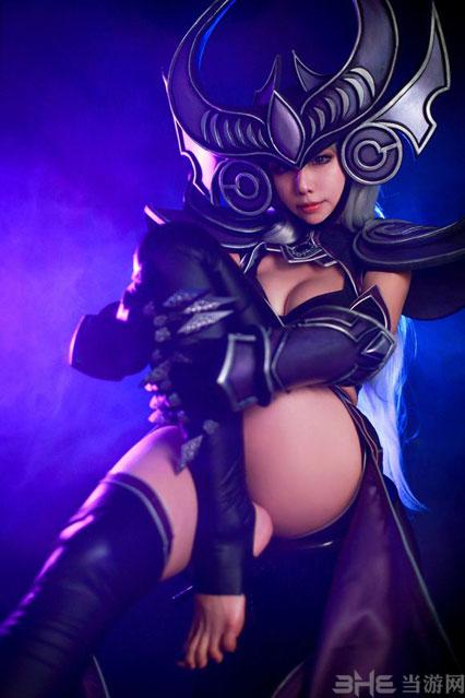 英雄联盟辛德拉cosplay