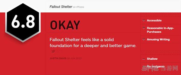 辐射避难所IGN简评