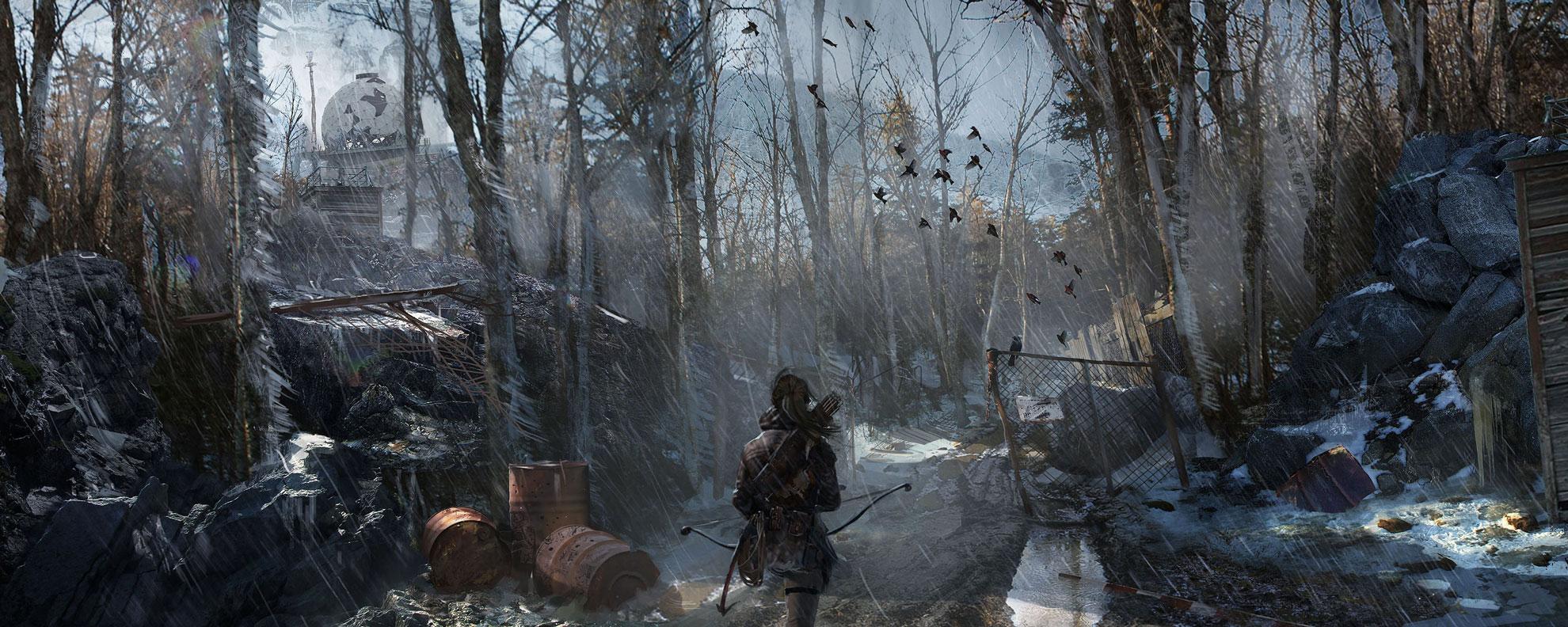古墓丽影崛起游戏截图第二弹 勇闯西伯利亚