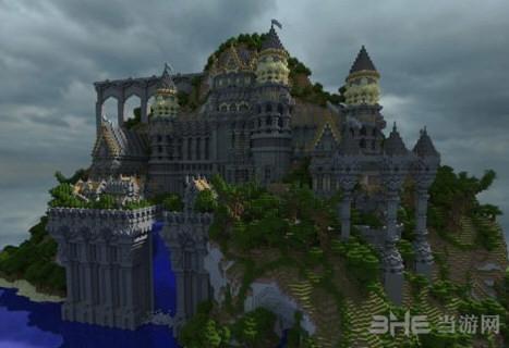 我的世界grandeena castle格兰蒂娜城堡存档图片