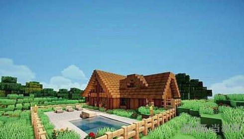 我的世界生存小木屋地图存档截图1