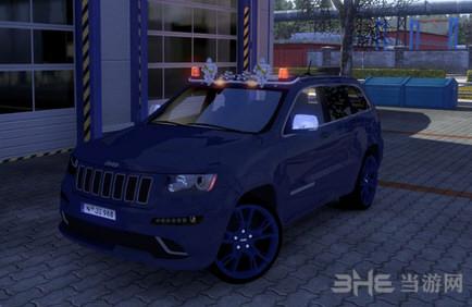 欧洲卡车模拟2新版疝气灯MOD截图3