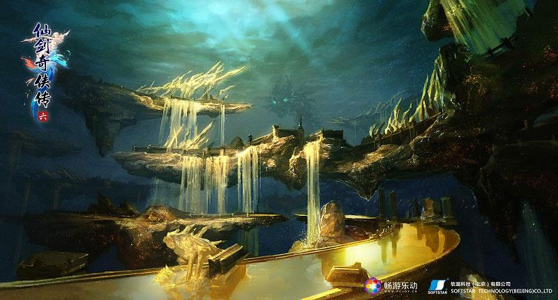 仙剑奇侠传6精致场景图欣赏 多彩世界值得