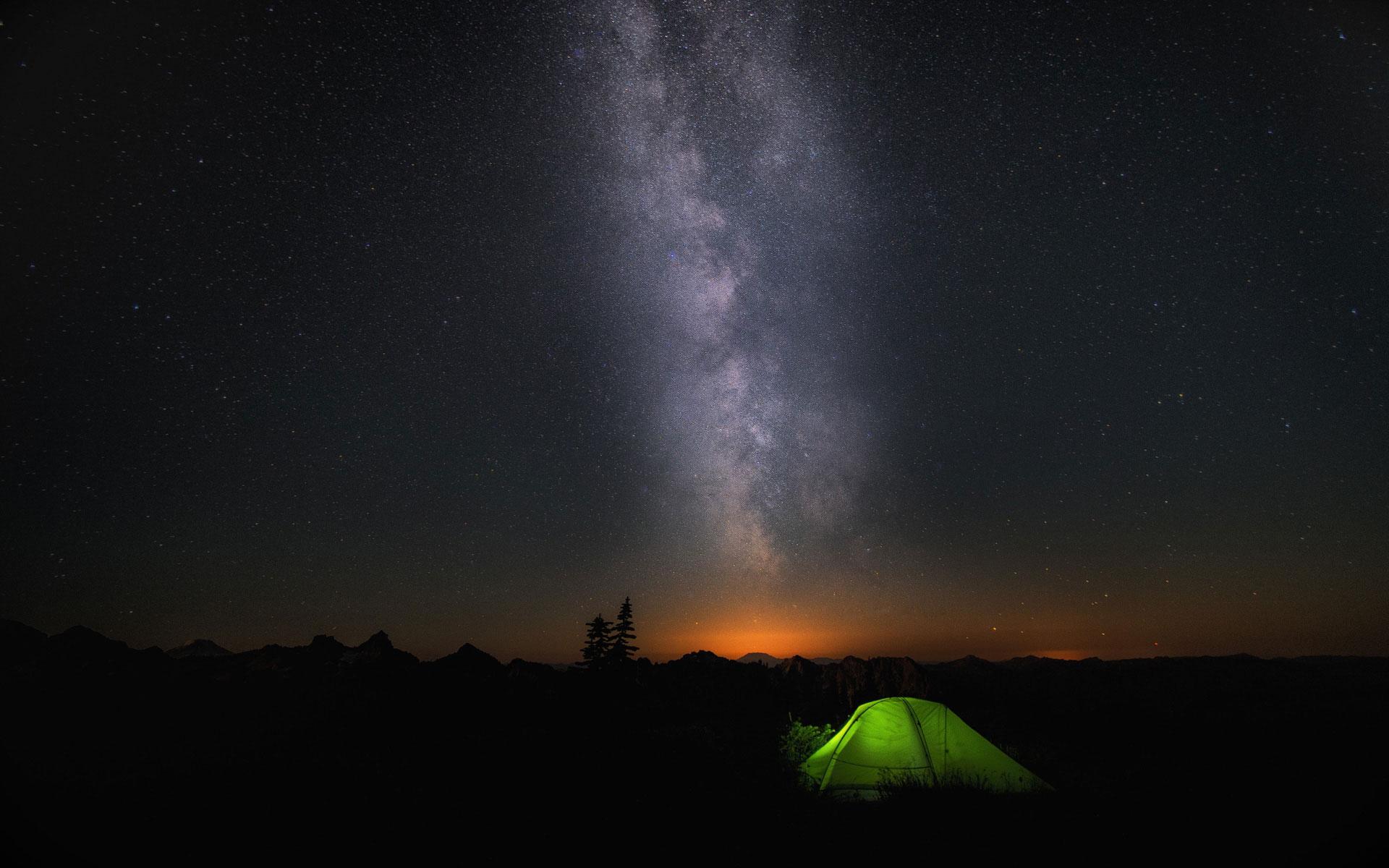 WIN10 4K高清桌面壁纸欣赏 仰望星空拥抱自然