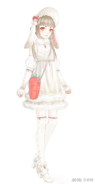 奇迹暖暖绒绒垂耳兔套装怎么得