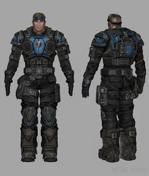 战争机器4人物设计图3