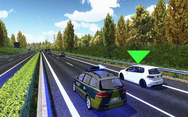 高速公路交警模拟截图2