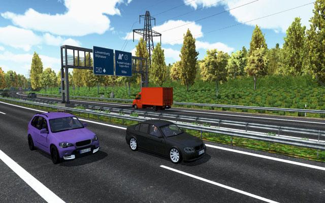 高速公路交警模拟截图1