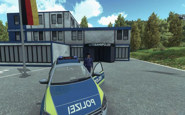 高速公路交警模拟截图3