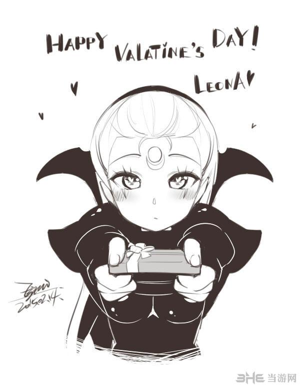 lol有爱玩家黑白手绘英雄欣赏 画工点赞!