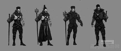巫师3初期设计图首次曝光 那些年希里居然是这个样子