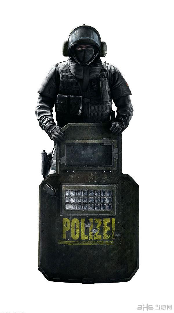 彩虹六号围攻最新宣传图片放出 一览德国特警