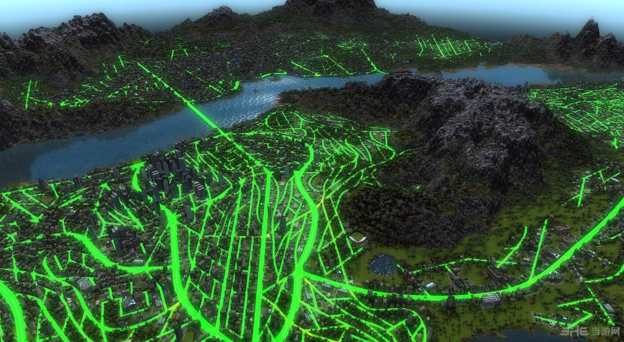 都市运输2一江两岸Unten am Flu地图MOD截图0