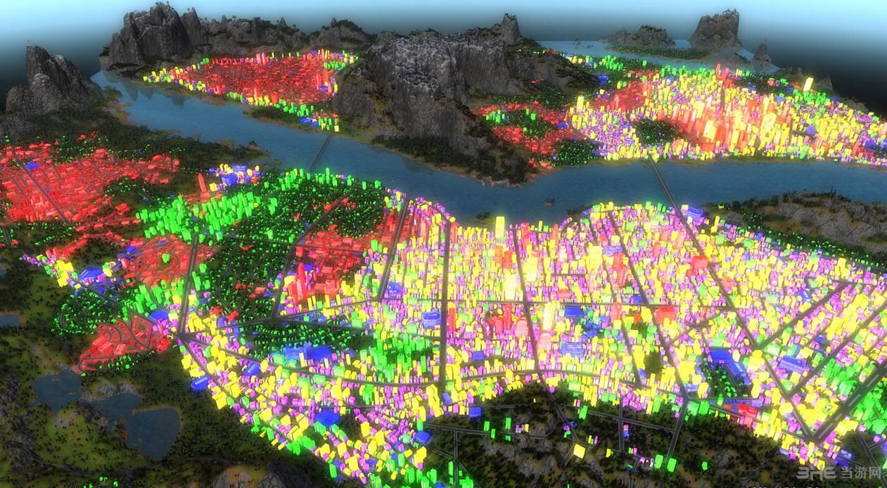 都市运输2一江两岸Unten am Flu地图MOD截图3