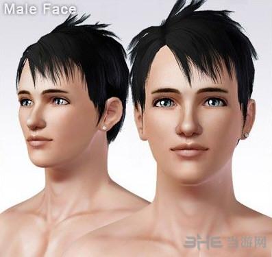 模拟人生3最新P家男性皮肤MOD截图0