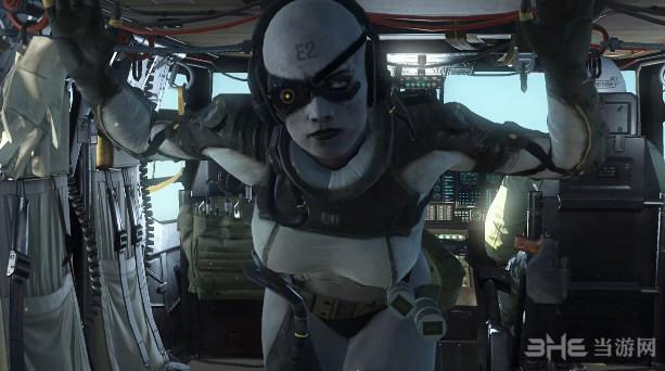 合金装备5:幻痛静静替换光头女狙击手MOD截图0