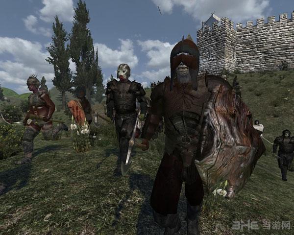 骑马与砍杀门球魔戒(bloodinthewest)中文mod版战团将才刘春芳图片