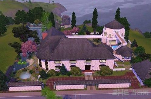 模拟人生3豪华花园别墅MOD截图1