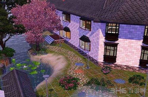 模拟人生3豪华花园别墅MOD截图2