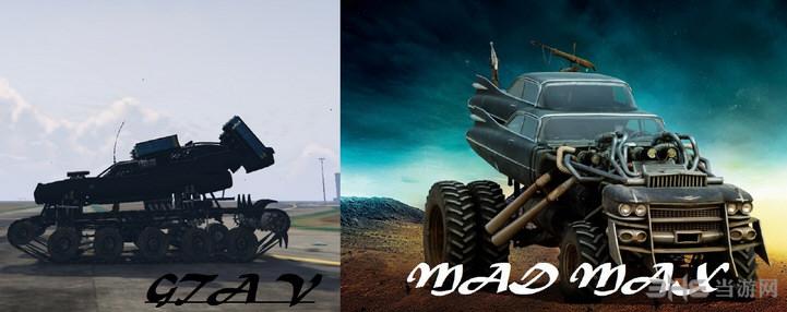 侠盗猎车手5疯狂麦克斯中的公爵战车MOD截图0