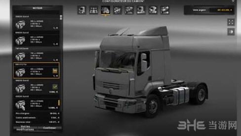 欧洲卡车模拟2 MB Actros2014 2000HP引擎MOD截图0
